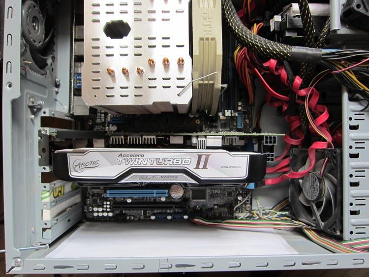 Как справляется ARCTIC Accelero Twin Turbo II с GeForce GTX