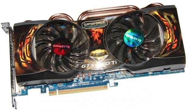 GIGABYTE GeForce GTX 560 Ti 1GB SOC Video Card