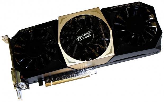 Фотографии Palit JetStream GeForce GTX 680