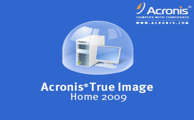 Acronis True Image Home 2009 v12.0.0.9809 Rus.