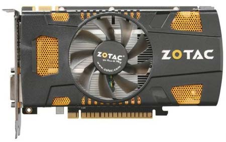 Разогнанная версия GTX 550 Ti - Zotac GeForce GTX 550 Ti AMP! Edition