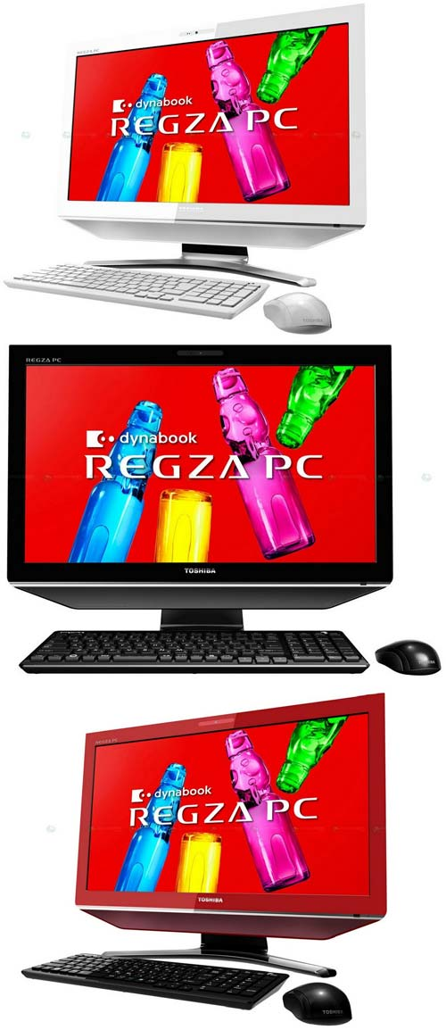 Toshiba показывает All-in-One ПК REGZA PC D732/T9
