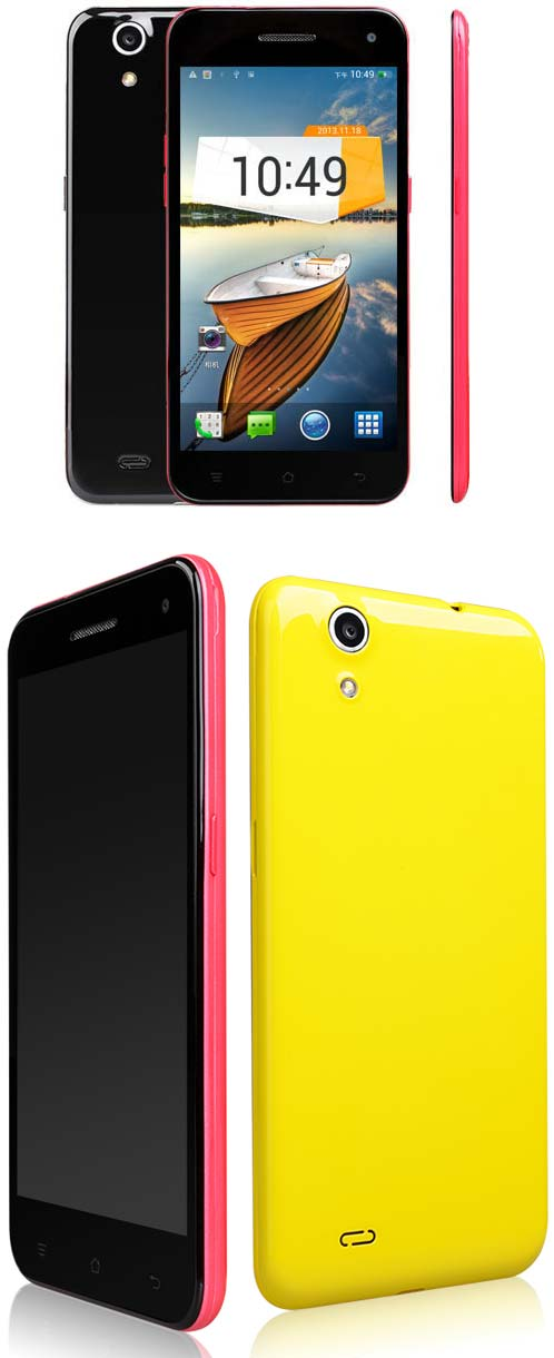 OrientPhone 809T   смартфон с тонким корпусом