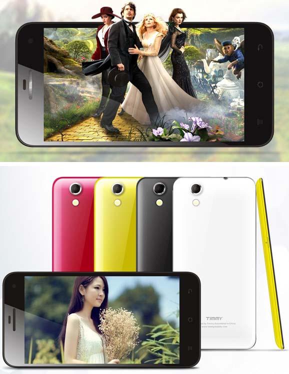Timmy E82 — 4 ядерный смартфон с Android 4.2.2 за $175