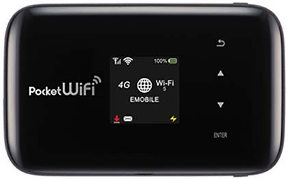 Новинка Pocket WiFi (GL09P) от eAccess/ZTE