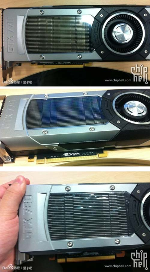 Неужели это GeForce GTX 780 и GeForce GTX 770?