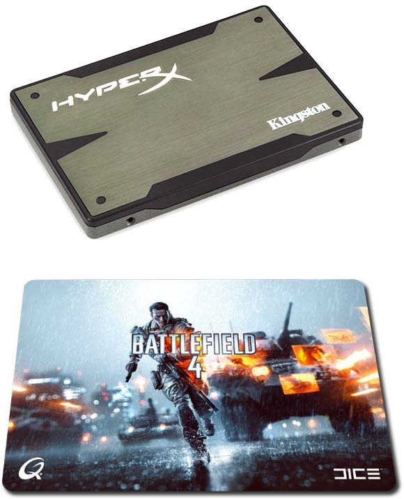 Kingston HyperX + Battlefield 4 = халява