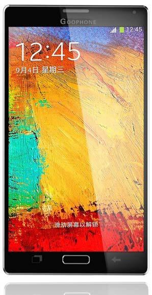Goophone N4   клон анонсированного смартфона Samsung Note 4