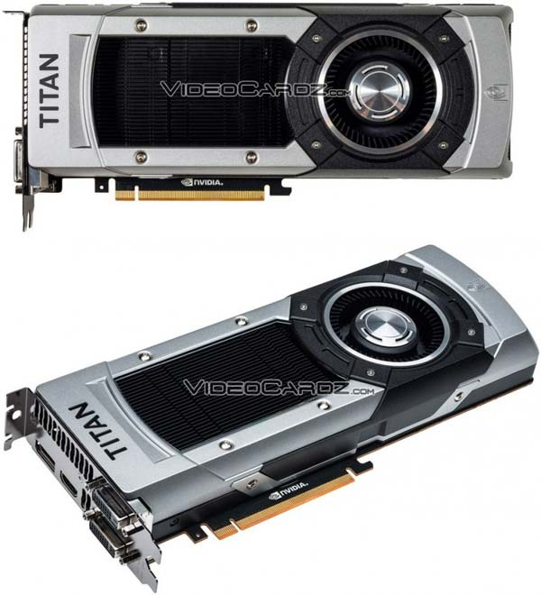 GeForce GTX Titan Black на фото