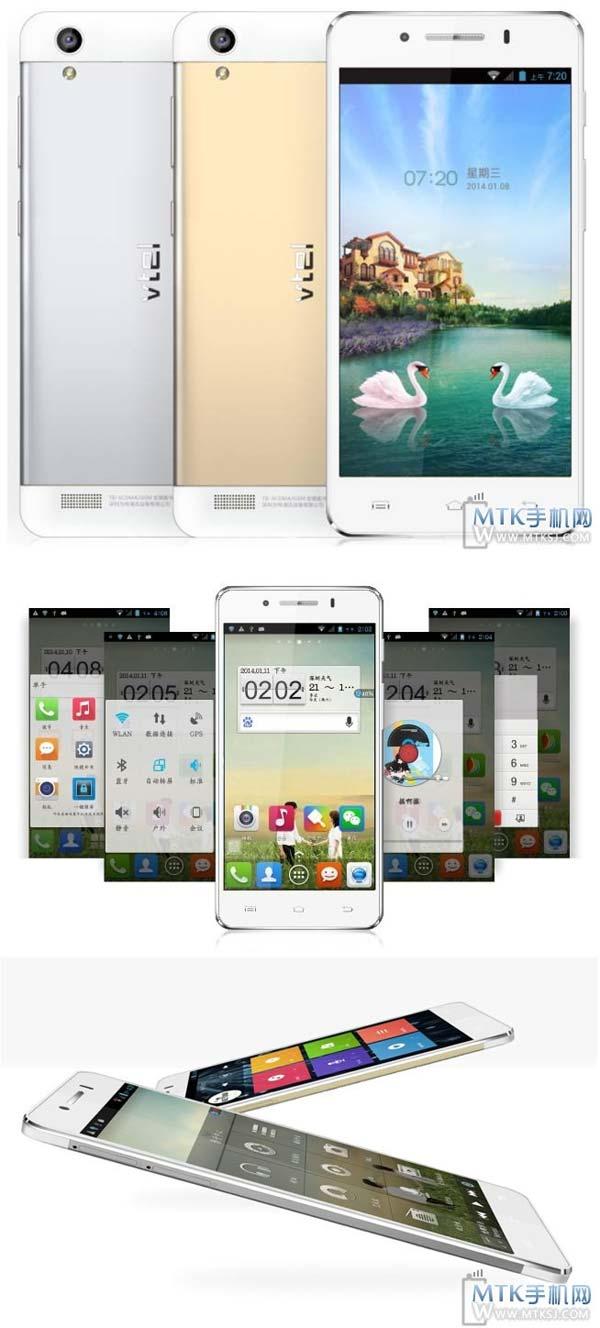 Vtel X1   ультратонкий смартфон с узкими рамками