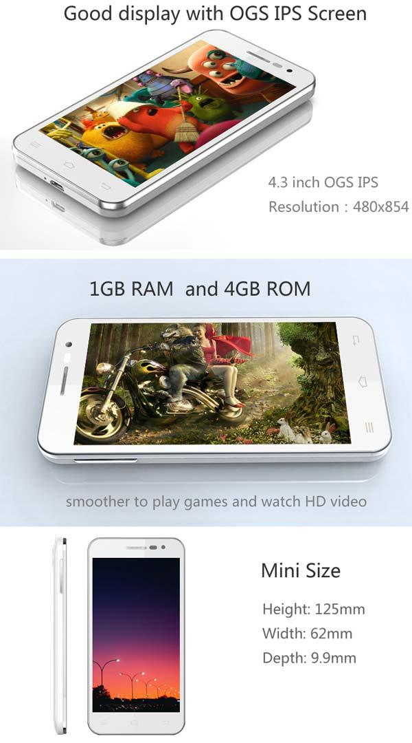 Jiayu G2F – старт продаж международной версии с WCDMA