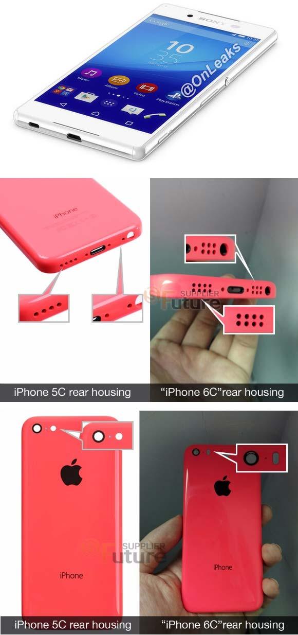 Sony Xperia Z4 и Apple iPhone 6C