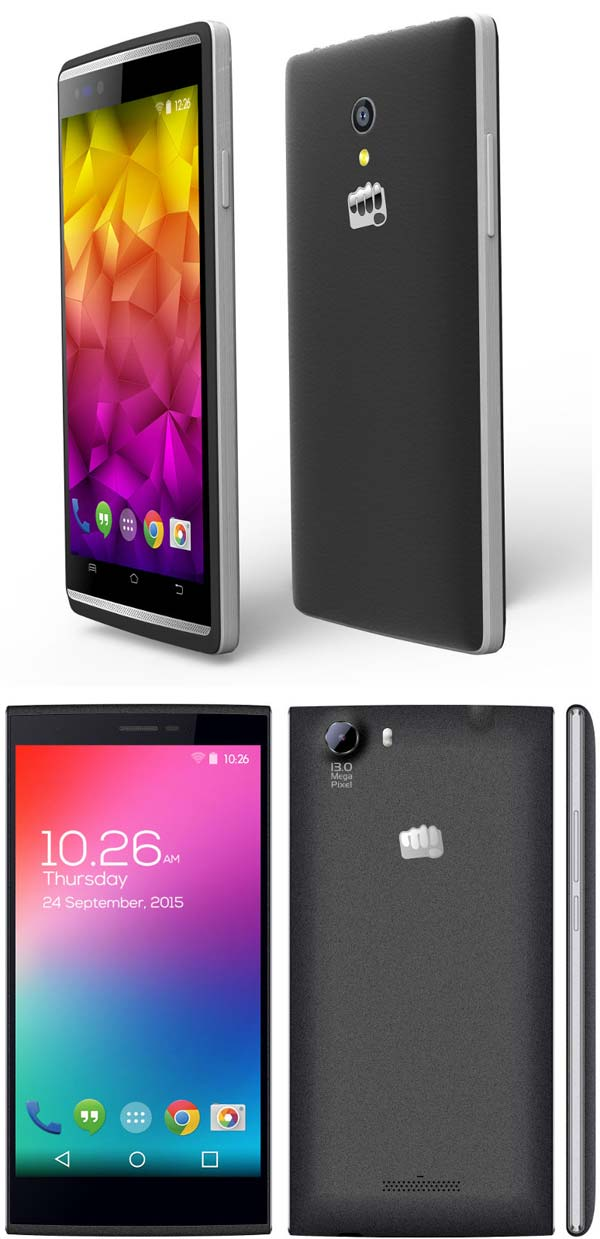Micromax Canvas Fire 4G и Canvas Play 4G