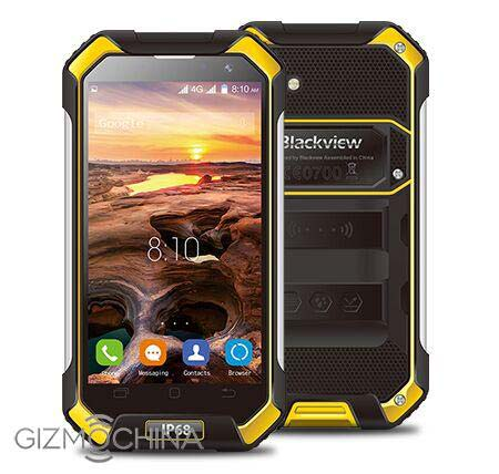 На фото смартфон Blackview BV6000