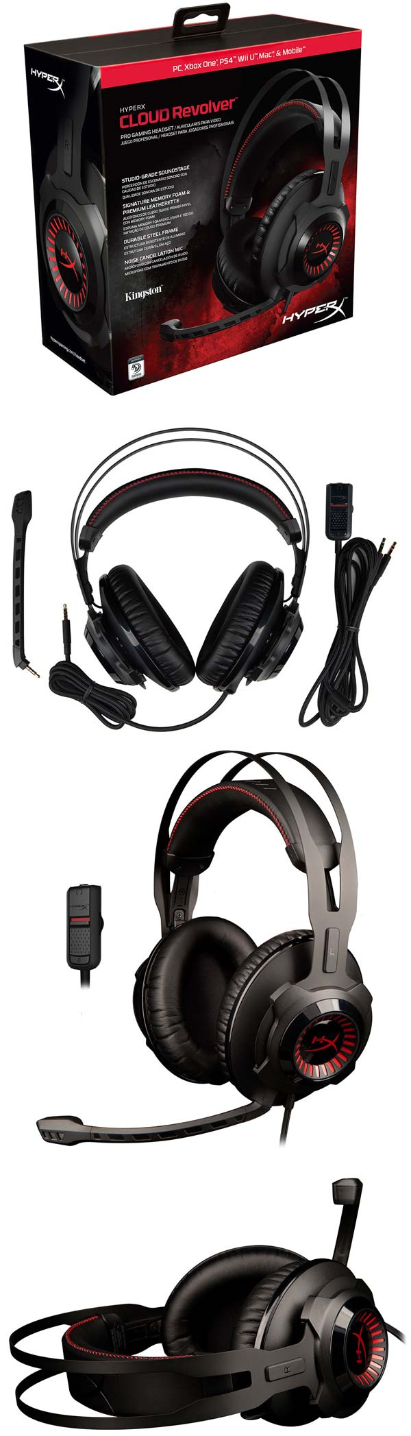 На фото Kingston HyperX Cloud Revolver