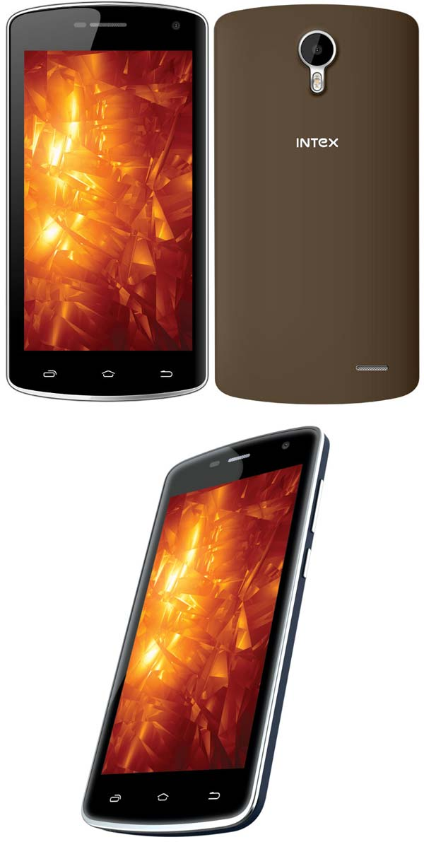 Intex Cloud Fame на фото