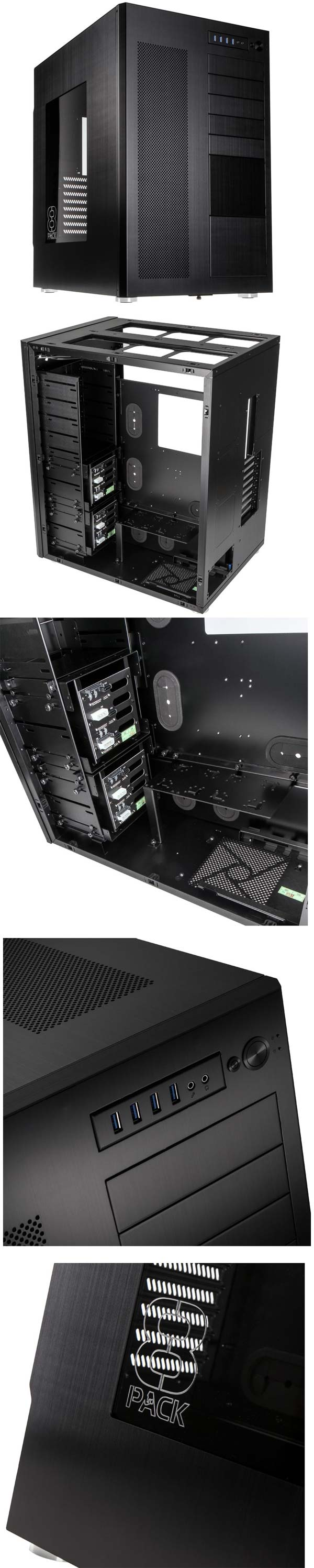 Могучий корпус Lian Li PC-D888WX 8Pack Edition