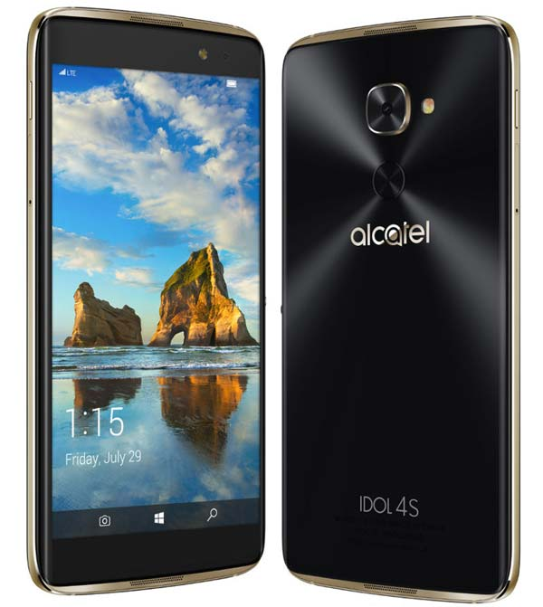 Alcatel Idol 4S с Windows 10