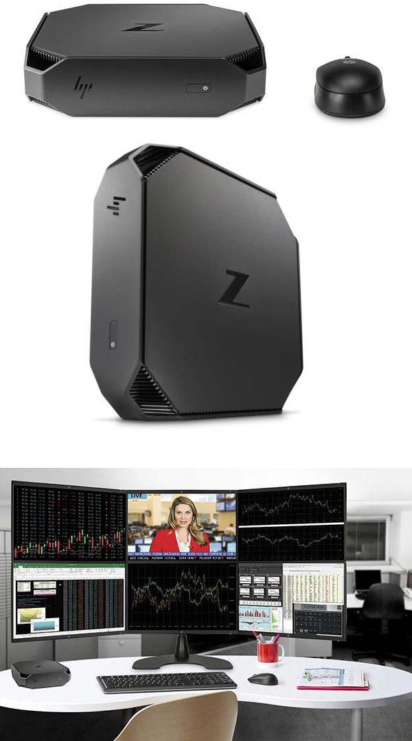 Внешний вид HP Z2 Mini Workstation