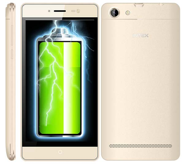 Умный телефон Intex Aqua Power M