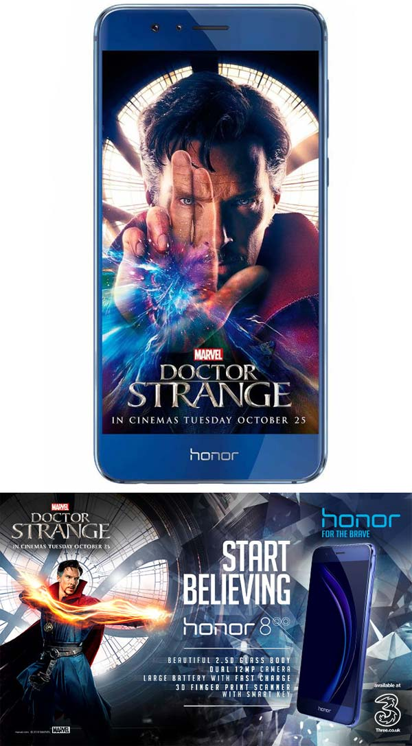 Смартфон Honor 8 Doctor Strange Limited Edition