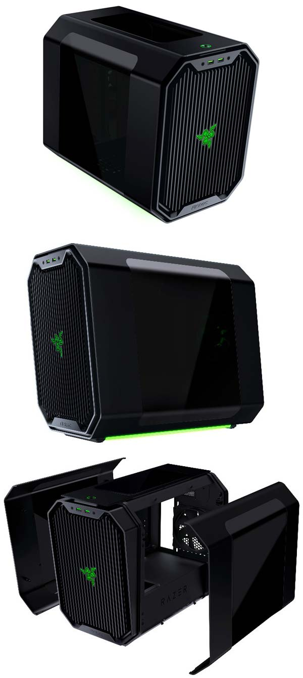 Antec Cube-Designed by Razer