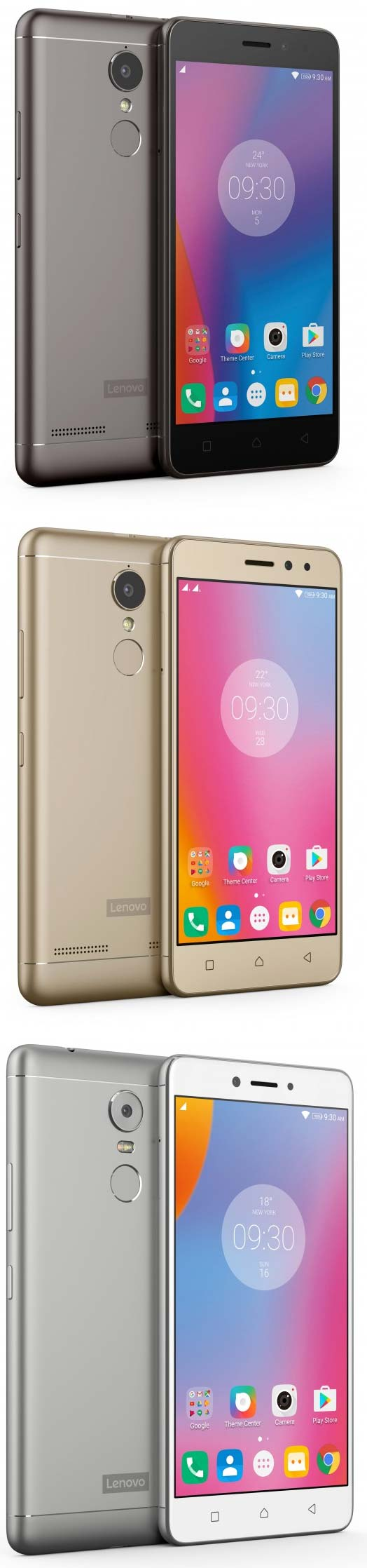 Lenovo K6, K6 Power и K6 Note