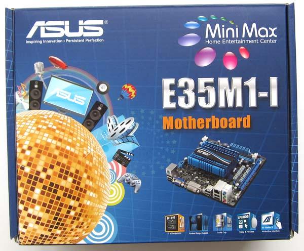 Коробка материнской платы ASUS E35M1-I