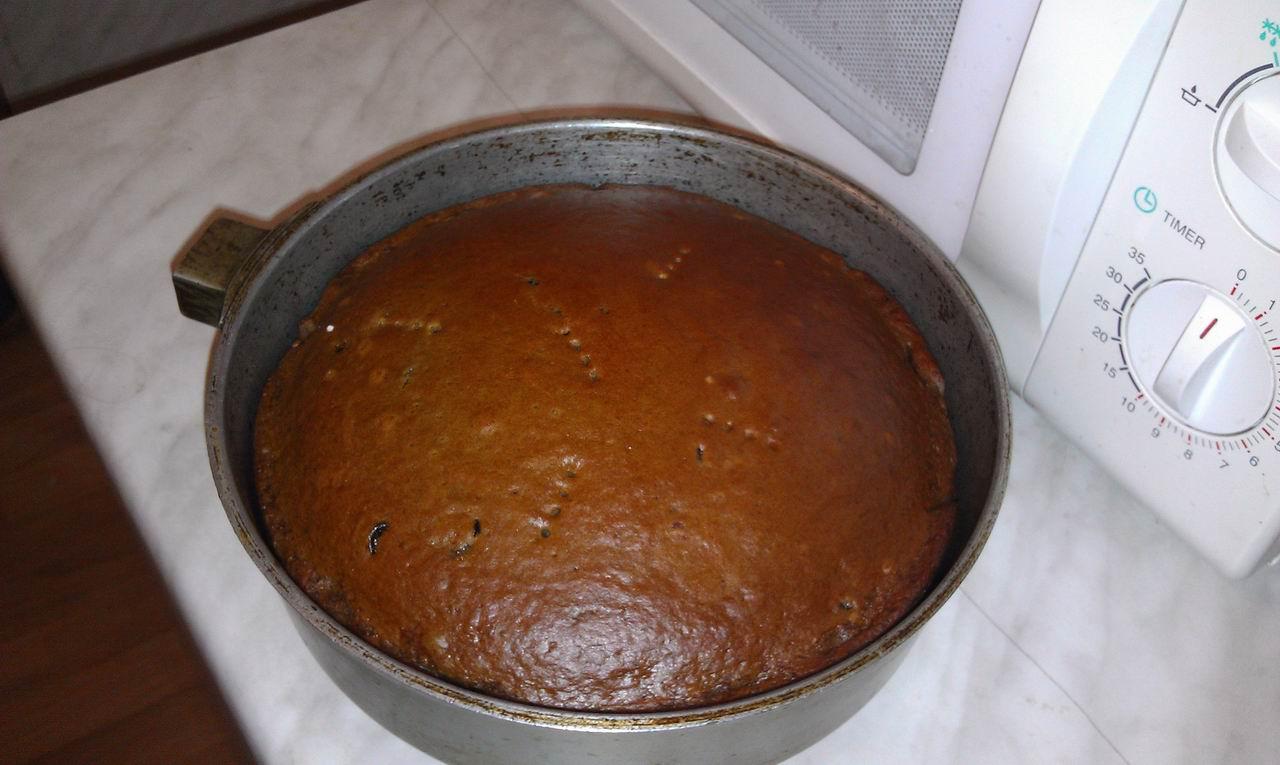 рецепт Кекс на сковороде