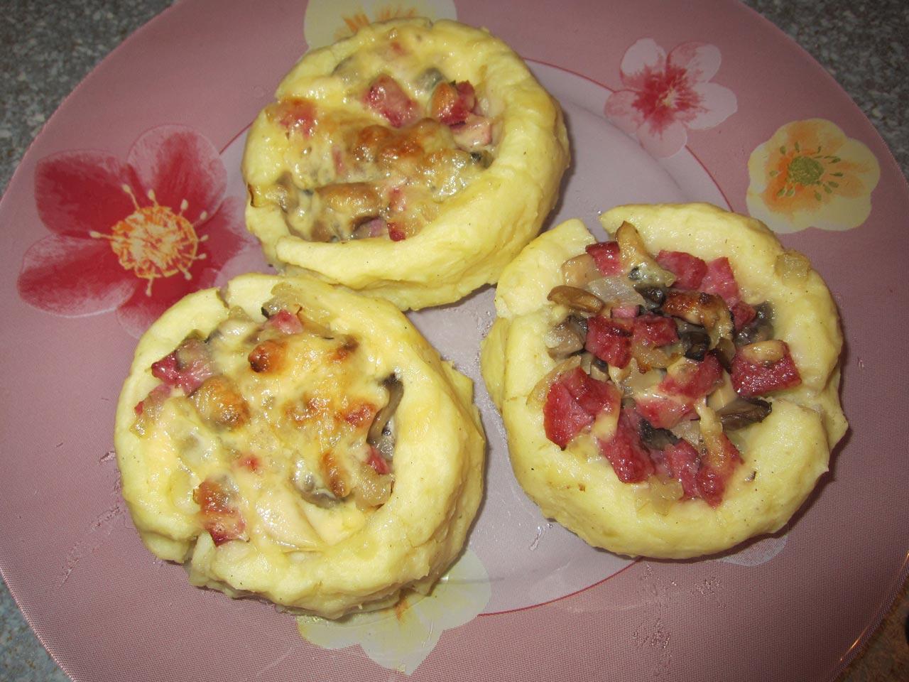 Рецепт тарталеток из картофельного пюре